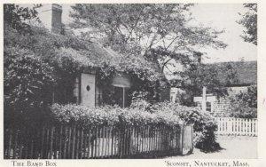 'SCONSET, NANTUCKET , Massachusetts , 1910-30s; The Band Box