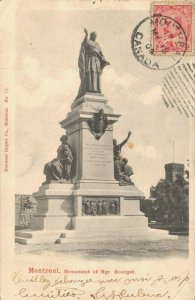 Canada Montreal Monument of Ignace Bourget 04.03