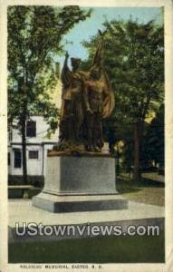 Soldiers Memorial Exeter NH 1924