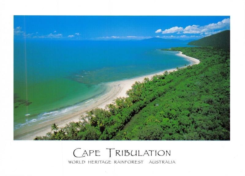 Postcard Cape Tribulation, World Heritage Rain Forest, Australia C88