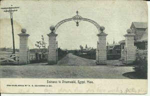 Entrance To Dreamworld, Egypt, Mass.