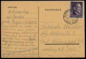 3rd Reich Germany 1944 Concentration Camp Flossenburg Aussenkommando Leitm 73650