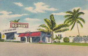 Florida Pompano Bo-Mont Fruit Packers Citrus Stand