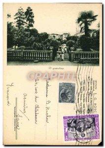 Old Postcard Padova Il Giardino