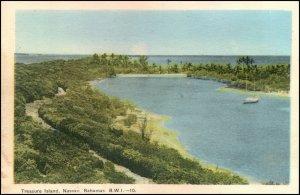 Treasure Island Nassau Bahamas Postcard