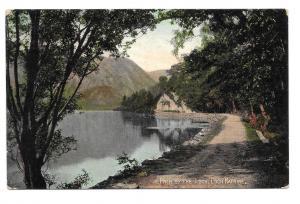 Scotland Loch Katrine Path Stirling Vtg Valentines 1909 UDB Postcard