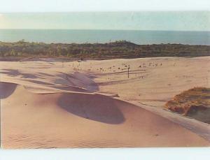Pre-1980 SILVER LAKE FROM DUNES Silver Lake - Near Hart Michigan MI hn1682