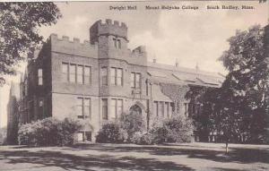 Massachusetts South Hadley Dwight Hall Mount Holyoke College