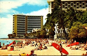 Hawaii Waikiki Beach The Sheraton Waikiki