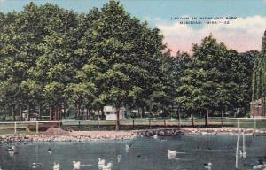 Mississippi Meridian Lagoon In Highland Park 1943
