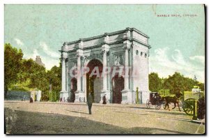 Postcard Old Marble Arch London