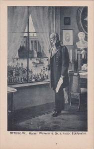 Kaiser Wilhelm der Grosse Am Historisches Eckfenster Berlin Germany