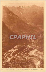 Old Postcard Cauterets View Raillere and Cabaliros