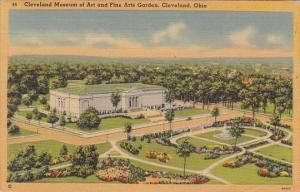 Cleveland Museum Of Art And Fine Arts Garden Cleveland Ohio 1942