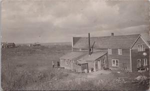 People House Prairies Farm Farmland AB Alberta ?? (In AB lot) RPPC Postcard E26