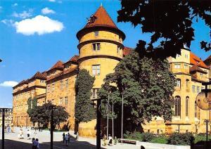 Stuttgart Altes Schloss Chateau Promenade Castle