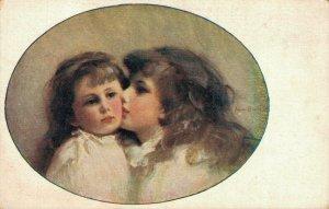 Fantasy Portrait Art Nouveau Theme Postcard Lot of 8  01.17
