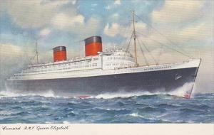 Cunard Line R M S Quen Elizabeth