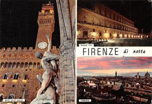 Italy Firenze Palazzo Pitti Ratto Delle Sabine Tramonto Statue General view