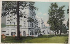 WHITE SULPHUR SPRINGS, West Virginia, PU-1925; The New Greenbrier