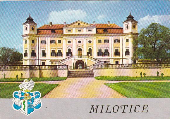Czechoslovakia Milotice Zamek Castle