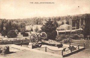 Johannesburg The Zoo Cannon Postcard