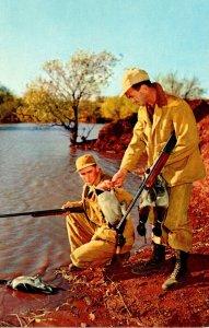 Hunting Scene Duck Hunters