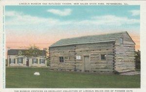 PETERSBURG, IL, 1910-20s; Lincoln Museum & Rutlege Tavern, New Salem State Park