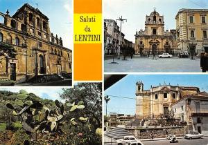 Italy Lentini Chiese Cathedrals Cars Voitures Motorcycle