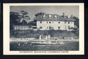 Monument Beach, Mass/MA Postcard, Briarwood Conference Center, Waterfront