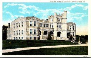 Missouri Springfield Pythian Home Of Missouri Curteich