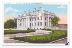 Washington DC Postcard American Red Cross Building ca 1925