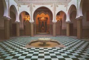 Tetuan Royal Palace Morocco Postcard