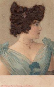 Attached Hair , Female Portrait , 1907