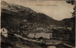 CPA CORSE Corte- Une vue generale. (711585)