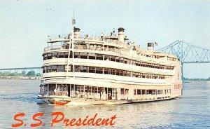 SS Pres. River Boat Unused