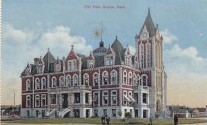 REGINA , Saskatchewan, Canada , 1900-10s ; City Hall