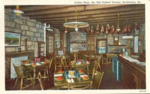 Coffee Shop, the Old Talbott Tavern, Bardstown, KY, 1920s...