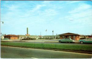 BALTIMORE, Maryland  MD   Roadside MOTEL MARYLANDER  1959   Postcard