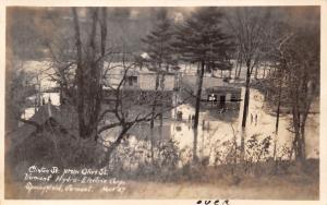 Springfield VT Hydro Electric Corporation~Flood Desolation Description RPPC 1927
