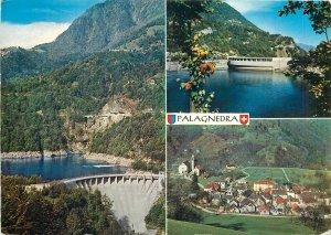 Postcard Switzerland multi view palagnedra centovalli village lake mountains