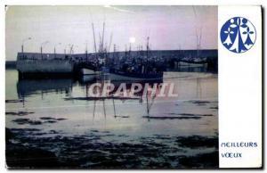 Chateaulin - Last reflections - Postcard Modern