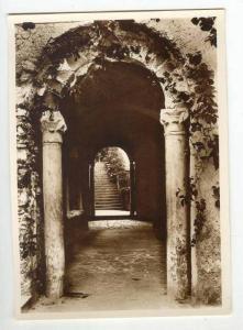 RP: Ravello, Italy 30-40s Giardino Rufolo - Entrata dal cortile