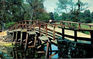 Massachusetts Concord Famous Concord Bridge