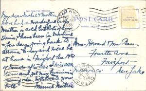 Montreal QC, Quebec, Canada - The Windsor Hotel - pm 1938 - Linen