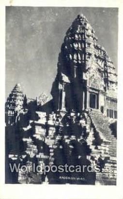 Cambodia, Khmer Angkorwat Angkorwat Real Photo