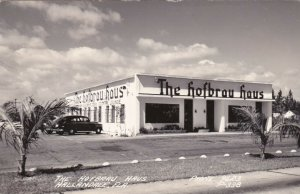 Florida Hallandale The Hofbrau Hous German Restaurant Real Photo sk728