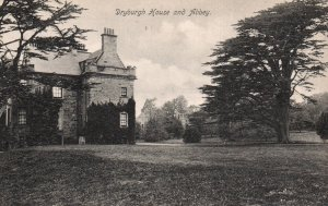 Dryburgh House and Abbey,Dryburgh,Scotland,UK