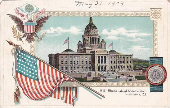 Rhode Island Providence Shode Island State Capitol