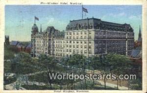 Montreal Canada, du Canada Hotel Windsor  Hotel Windsor